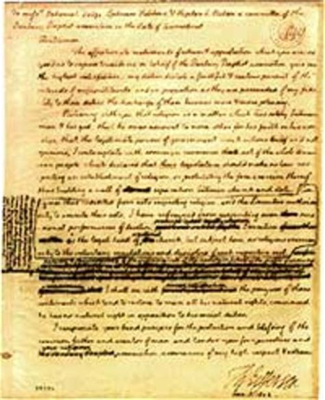 Explanation Of Jefferson S Letter To The Danbury Baptists War Of 1812 Timeline Timetoast Timelines