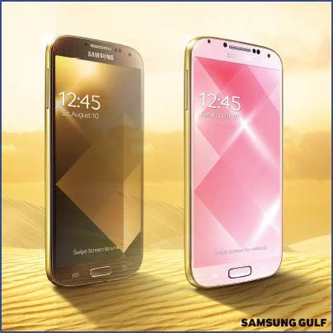 samsung unveils golden galaxy s4; shameless apple ripoff