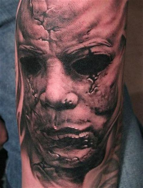 horror zombie tattoo on foot real photo pictures images 1000 ideas about horror movie tattoos on pinterest
