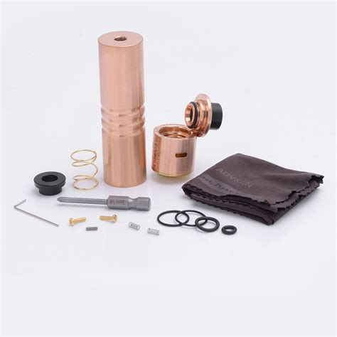 Rda Mad 24mm Authentic authentic advken mad hatter 24 copper rda mechanical mod kit