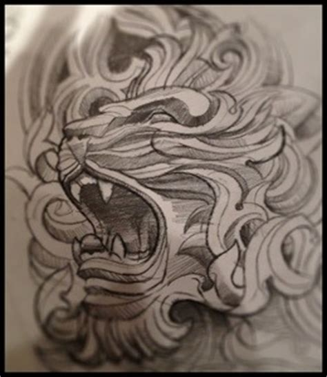 tattoo nightmares lion chest coverup artbytommyblog