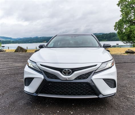 toyota camry 2018 white 2018 toyota camry drive review say bye bye bland