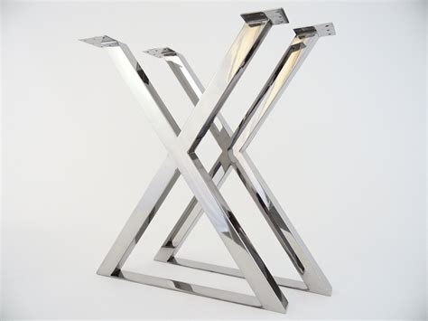 metal x table legs furniture 28 x frame table legs metal design ideas