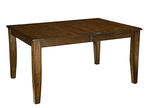 Dining Table W Leaf Kona Dining Table W Leaf Raisin Raymour Flanigan