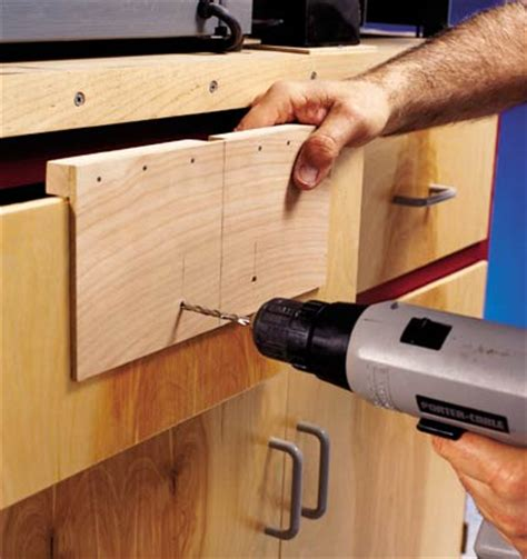 cabinet pull template drawer pull mounting jig