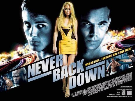 never back down 2008 | find your film movie
