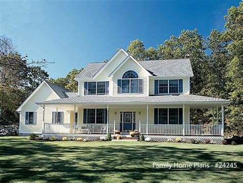 Country Farmhouse Plans Country Home Designs Country Porch Plans Country Style Porches