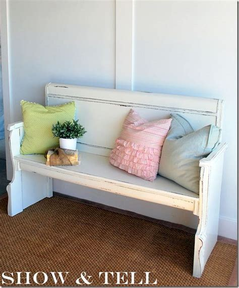 diy headboard bench awesome diy ideas for old headboards