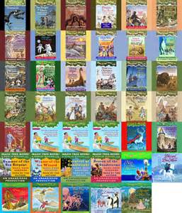 Magic Treehouse Series Book List - magic tree house