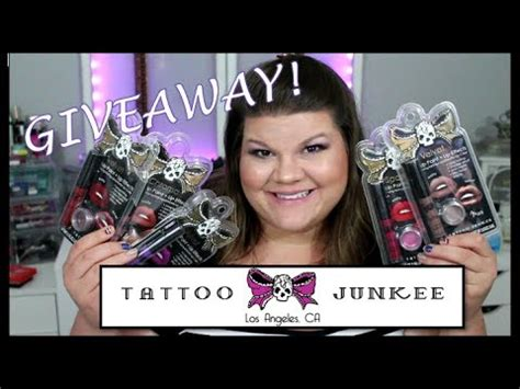 tattoo junkee removal tattoo junkee giveaway closed youtube