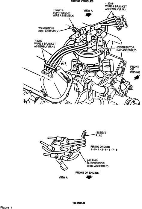 93 ford f150 5.0 firing order