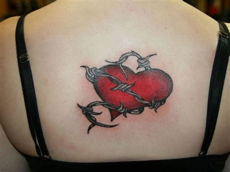 barbed wire heart tattoo designs 18 barbed wire images designs and ideas