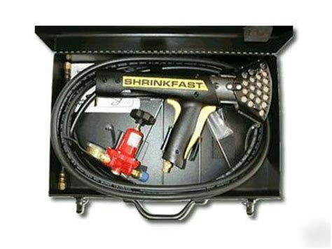 used boat shrink wrap gun shrinkfast 998 boat shrink wrap propane gas heat gun