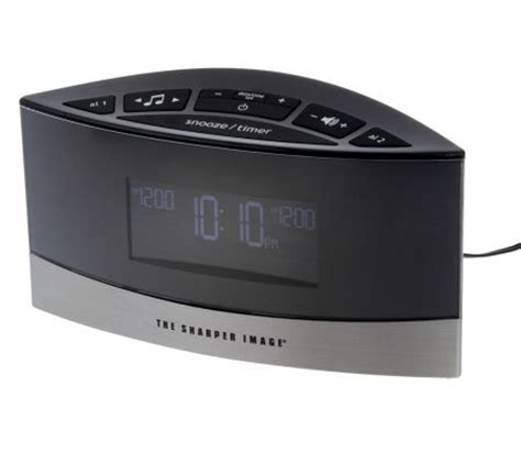 thesharperimage sound soother alarm clock   soothing