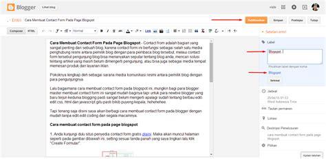 cara membuat index pada html cara membuat label kategori posting pada blogspot klik enter