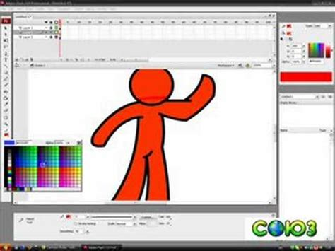 tutorial flash 8 youtube how to draw a 3d looking cartoon in adobe flash cs3 youtube