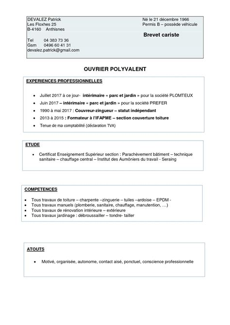 Lettre De Motivation De Cariste Resume Exle Sales Resume Exles 2012 Career Objective Diesel Mechanic Resume Arts