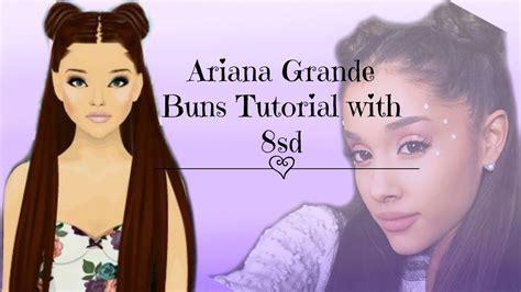 tutorial hair design stardoll stardoll hair design tutorial ariana grande bun with 8