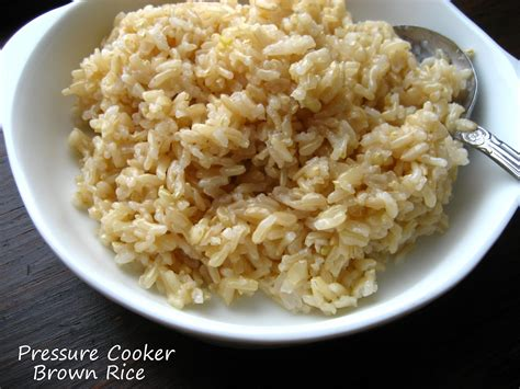 home cooking in montana pressure cooker brown rice