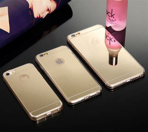 Casing Mirror Back Cover Iphone 5 5s D shop luxury mirror electroplating soft clear tpu phone cases for iphone 6 plus 6 4 7