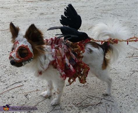 3d roadkill dog homemade roadkill zombie dog costume photo 2 4