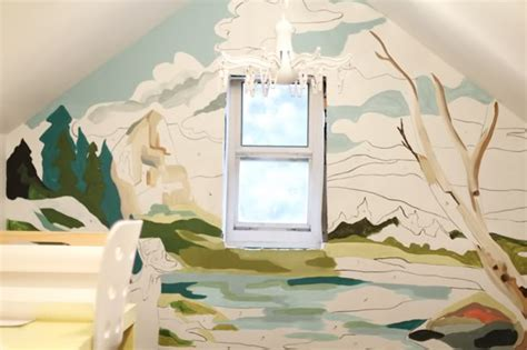 Paint By Numbers Wall Mural friday design finds if these walls could draw artsy forager
