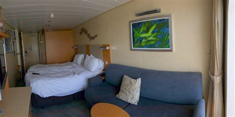 royal caribbean sofa bed photo tour of connecting category d7 balcony staterooms on