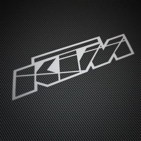 Ktm E Bike Aufkleber by Ktm Logo 2