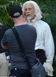 john malkovich new tv show john malkovich undergoes makeover to play pirate