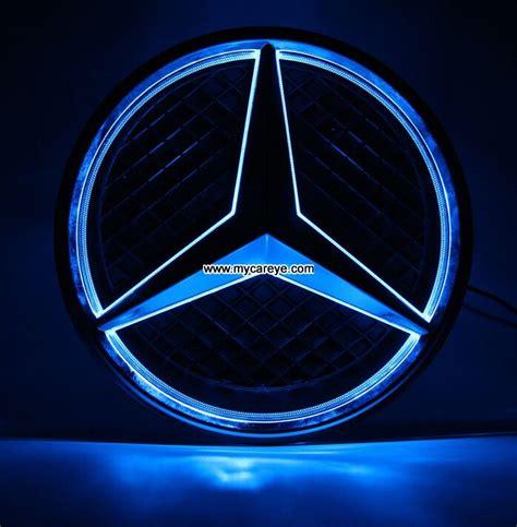 Mercedes Light Up Emblem by Mercedes Logo Lights Up C Class C180l C200l C260l Front Grille Logo Led Light 103525109