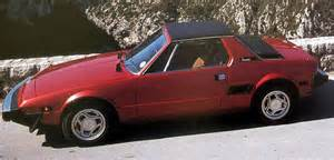 Fiat X1 1982 Fiat X1 9 Information And Photos Momentcar
