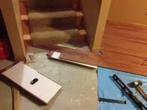 leveling concrete basement floor before laying laminate