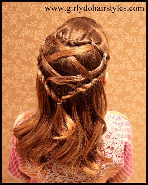 cute girl hairstyles valentine s day 15 adorable valentine s day hairstyles for girls i heart