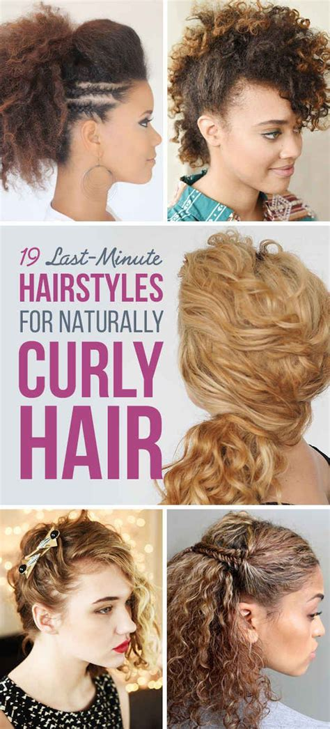 hair styles for a run 19 naturally curly hairstyles for when you re already