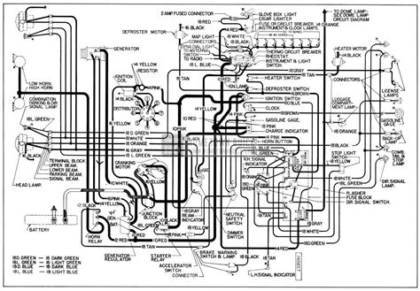 1954 buick wiring diagrams hometown buick