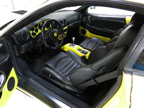 ferrari custom interior 2002 ferrari 360 modena custom 2 door coupe 177625