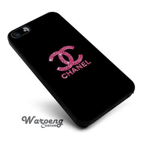 Chanel Gold For Iphone 4s Or Iphone 5s pink glitter sparkly chanel iphone 4s from waroengcustom