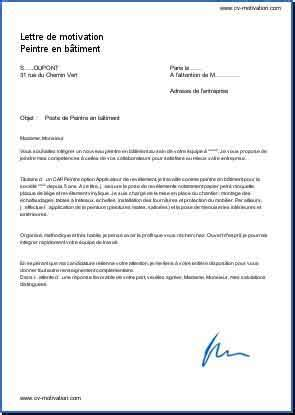 Lettre De Motivation Stage Ouvrier école Ingénieur Cover Letter Exle Exemple Lettre De Motivation Gratuite Peintre En Batiment