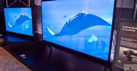 sony debuts impressive   consumer tv  ces