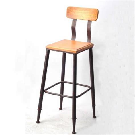 Rustic Iron Bar Stools by Handmade Custom Rustic Wood Wrought Iron Chairs Loft