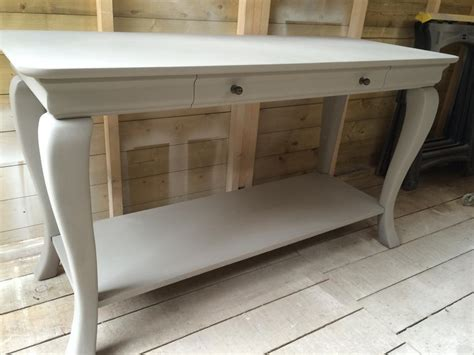 large console table large painted tv unit console table outside black country