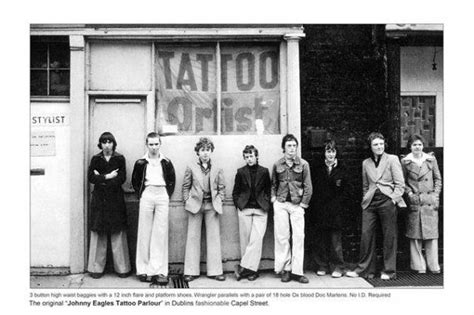 tattoo parlor oxford 1970s fashion oxford bags trousers photo inspiration