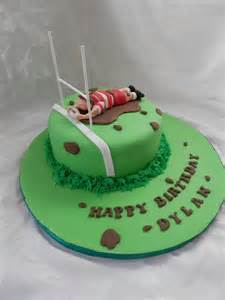 rugby themed birthday cake from truly tasty cupcakes chorley lancashire cake capers