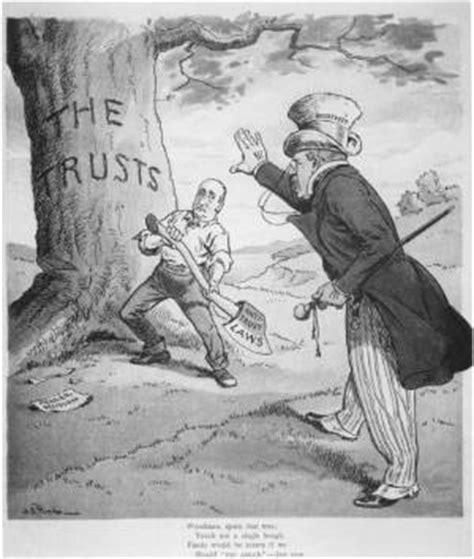 thamanjimmy history of the sherman anti trust act 1890