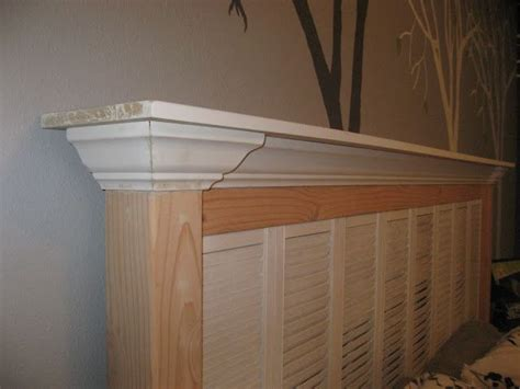 old shutters for headboard girl in air blog quot old shutters quot headboard tutorial for