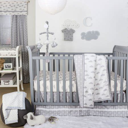 cloud crib bedding the peanut shell 3 piece baby crib bedding set grey and