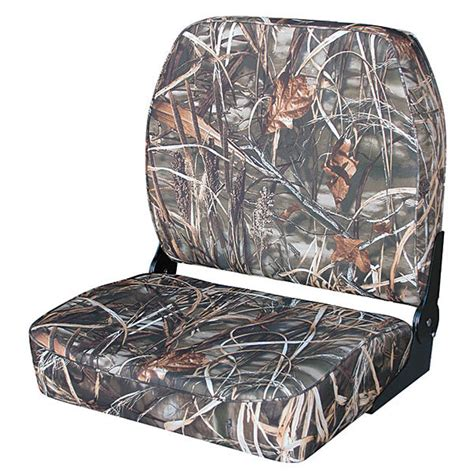 camo boat seat cover material wise seating camouflage big man boat seat west marine