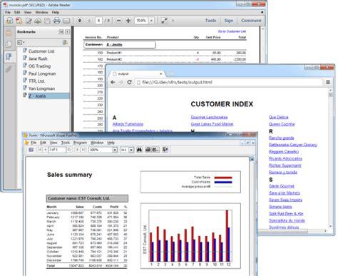 visual foxpro report print template eqeus xfrx visual foxpro report library print and
