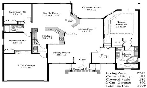 4 floor house plans 4 bedroom house plans open floor plan 4 bedroom open house