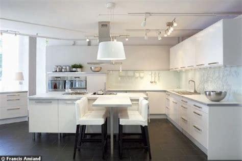 cuisine int馮r馥 ikea cuisine ikea faktum abstrakt blanche ikea kitchens